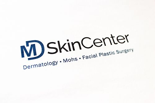 md skin center logo